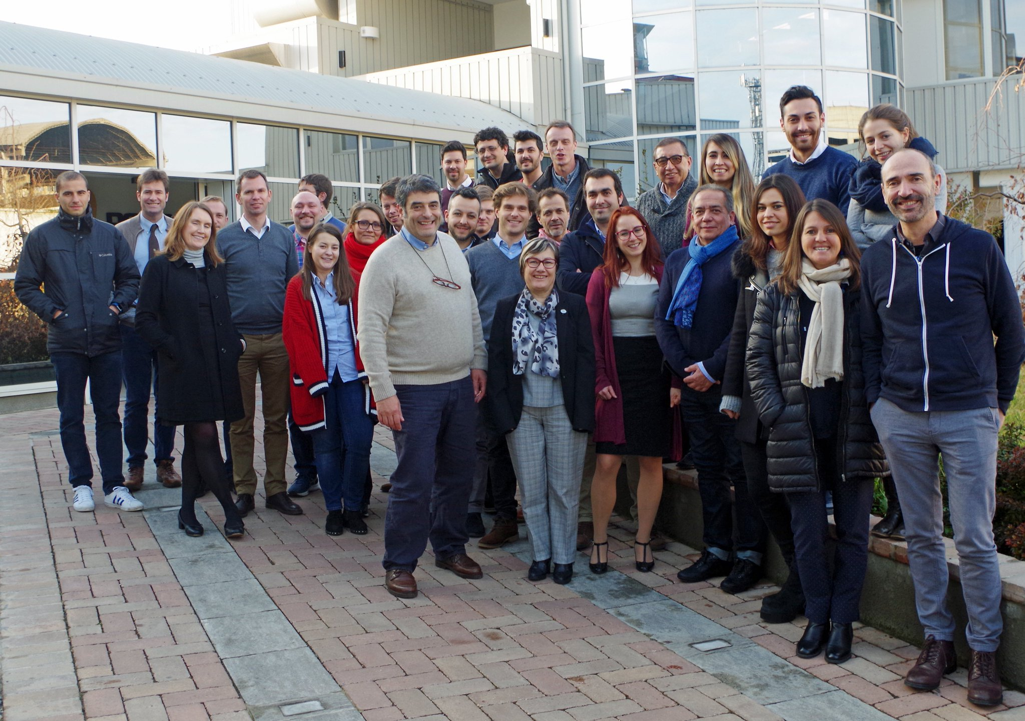 Looking forward to the next steps of the INNOQUA project - first prototypes at @nuigalway and @LEQUIA_UdG. Our team at the 4th Project meeting in Pavia, @r2m_italy. #Horizon2020 https://t.co/zjxMXmCsuo