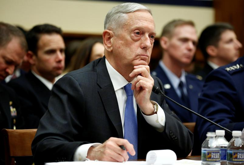 Washington is Trump's preferred parade route, options open: Mattis https://t.co/2aBb8v9A4Y https://t.co/lBYynxl7Th