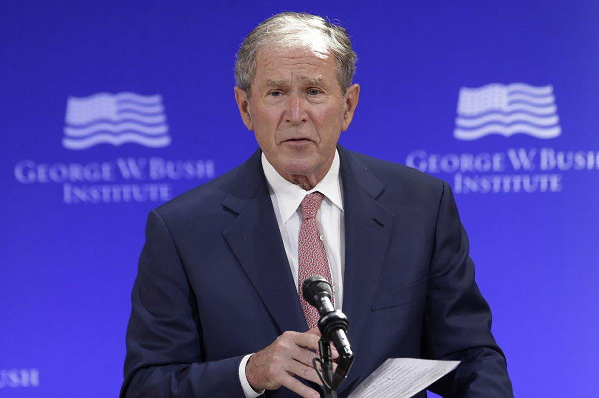 Bush: 'Pretty clear evidence' that Russians meddled in election https://t.co/nvTtufUvWG https://t.co/TBnE3BpPbK