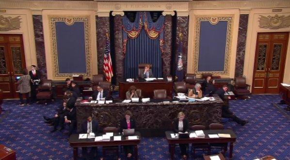 Senate reconvenes amid short-term government shutdown. Watch LIVE