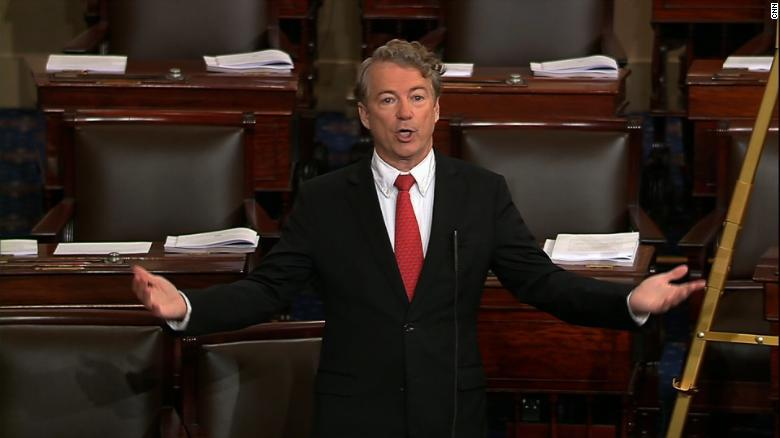 Federal government shuts down as Rand Paul holds up key vote