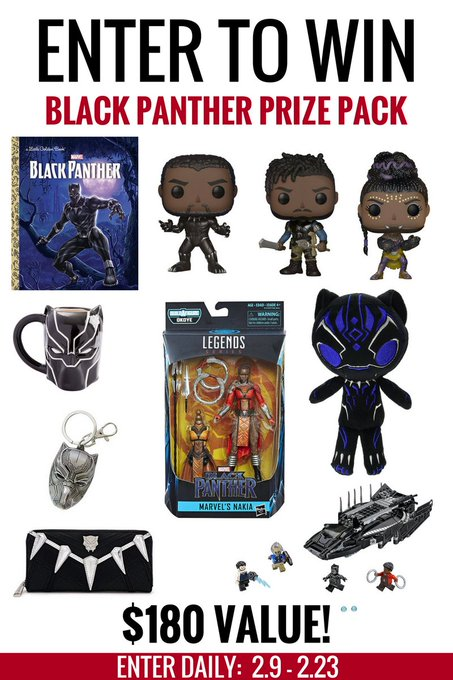 Black Panther Prize Pack #Giveaway