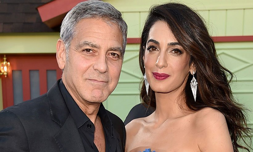 George Clooney says Amal's maternal skills make him feel 'incredibly proud' and 'small':
