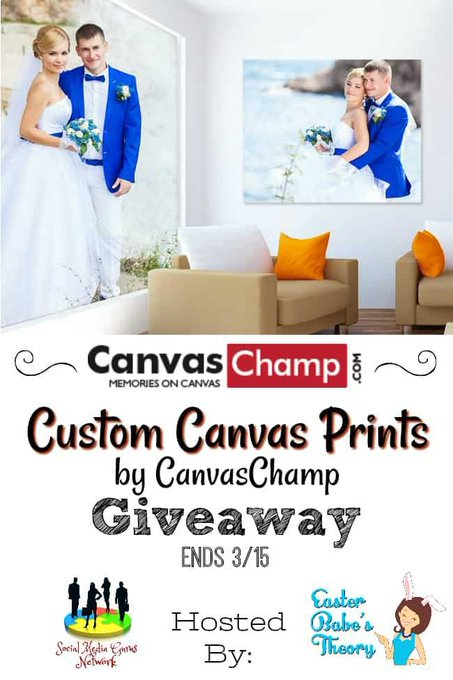 Custom Canvas Prints by CanvasChamp Giveaway