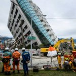 Taiwan rescue workers pull more bodies from quake rubble