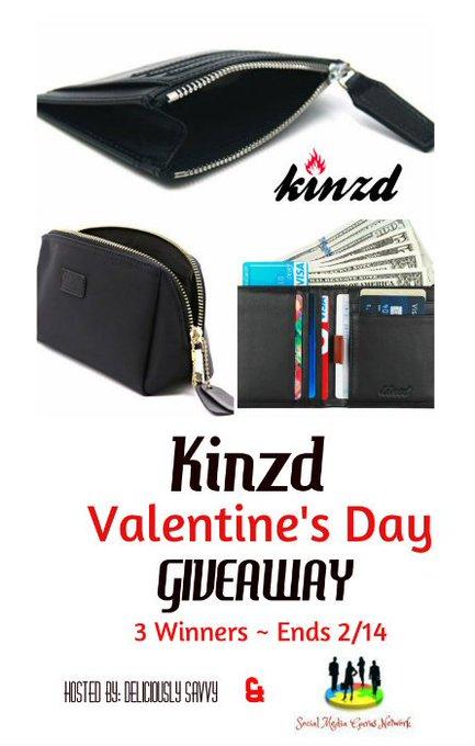Kinzd Valentine's Day Giveaway