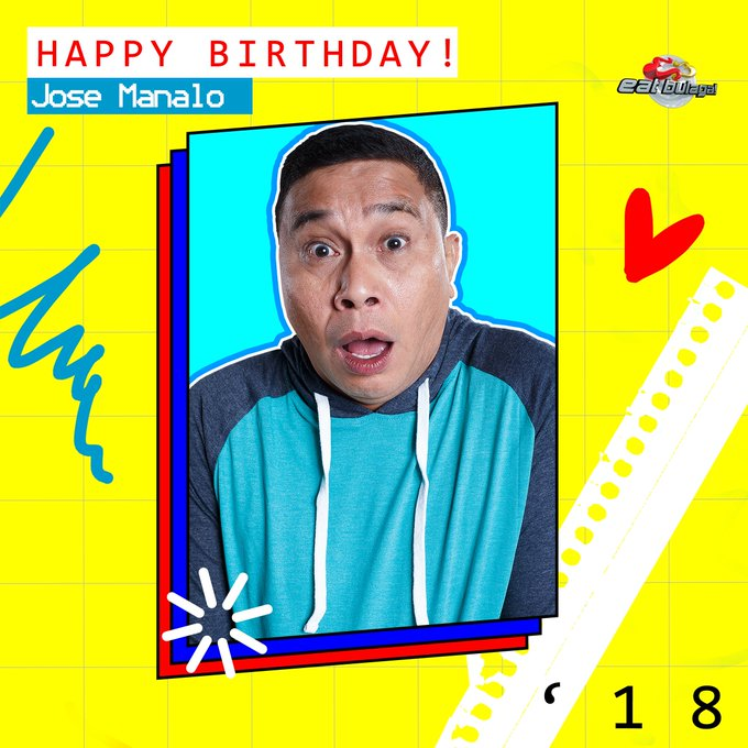 Happy Birthday Jose Manalo!  Love, your EB Dabarkads! <3