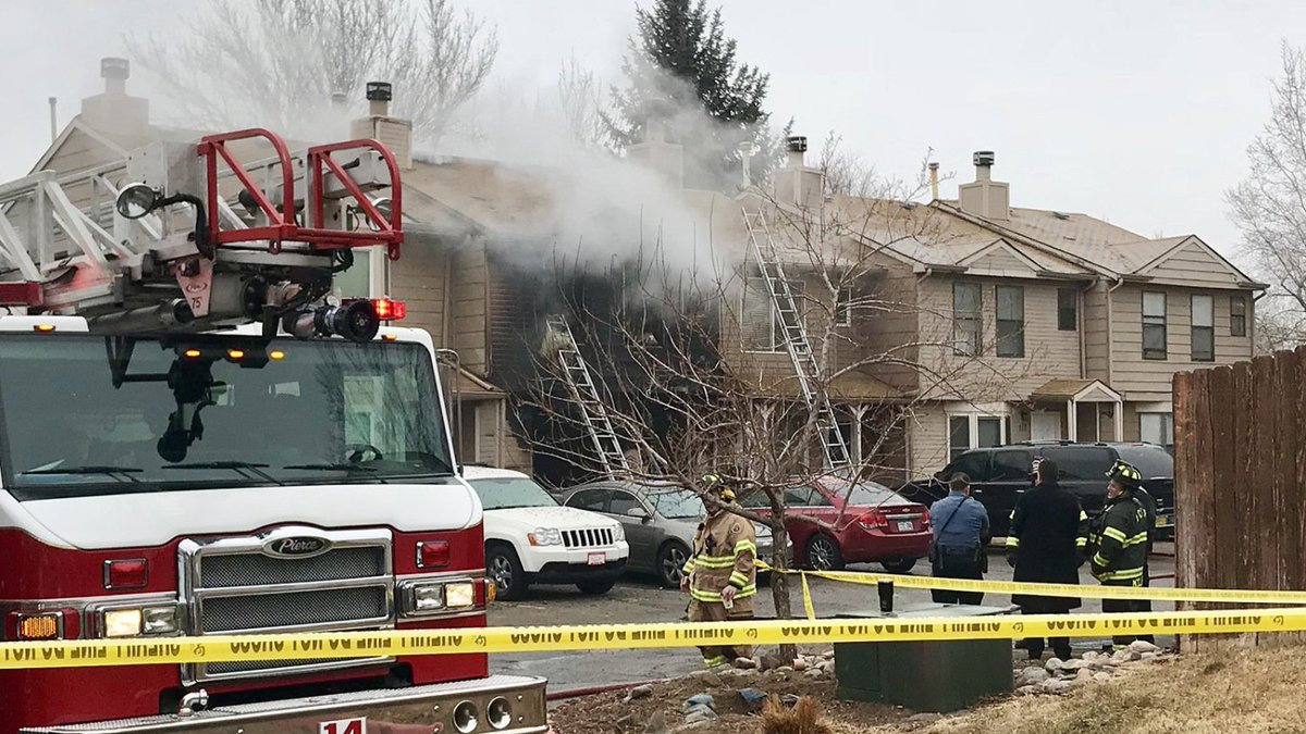 1 Injured In Fire At ApartmentBuilding
