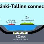 Finlandia y Estonia revelan el coste del tunel más largo del mundo
