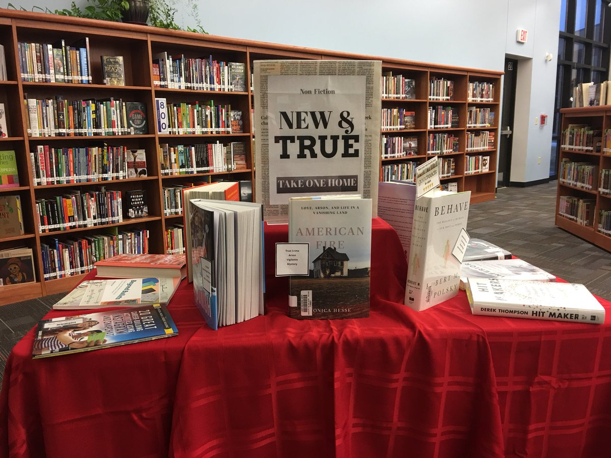 Fight #fakenews with what's new and true in our library! #whatwedo #wsdlibraries https://t.co/FKFjs4Koci