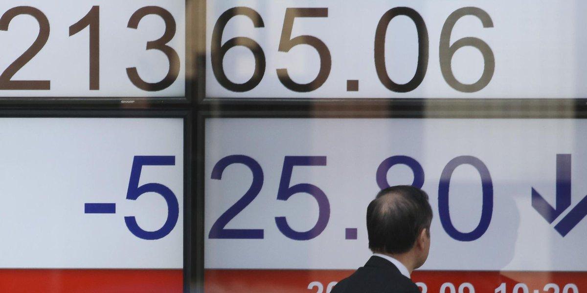 Global stocks sink after US index enters correction