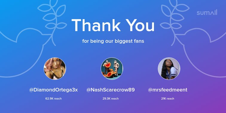test Twitter Media - Our biggest fans this week: @DiamondOrtega3x, @NashScarecrow89, @mrsfeedmeent. Thank you! via https://t.co/bTNjcdvhw3 https://t.co/iWZrVoujCM