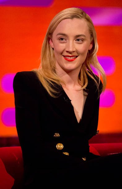 Last night, @Saoirse_ronan wore #BALMAINPF18 at @TheGNShow #BALMAINARMY https://t.co/QMlZHMQ9pu