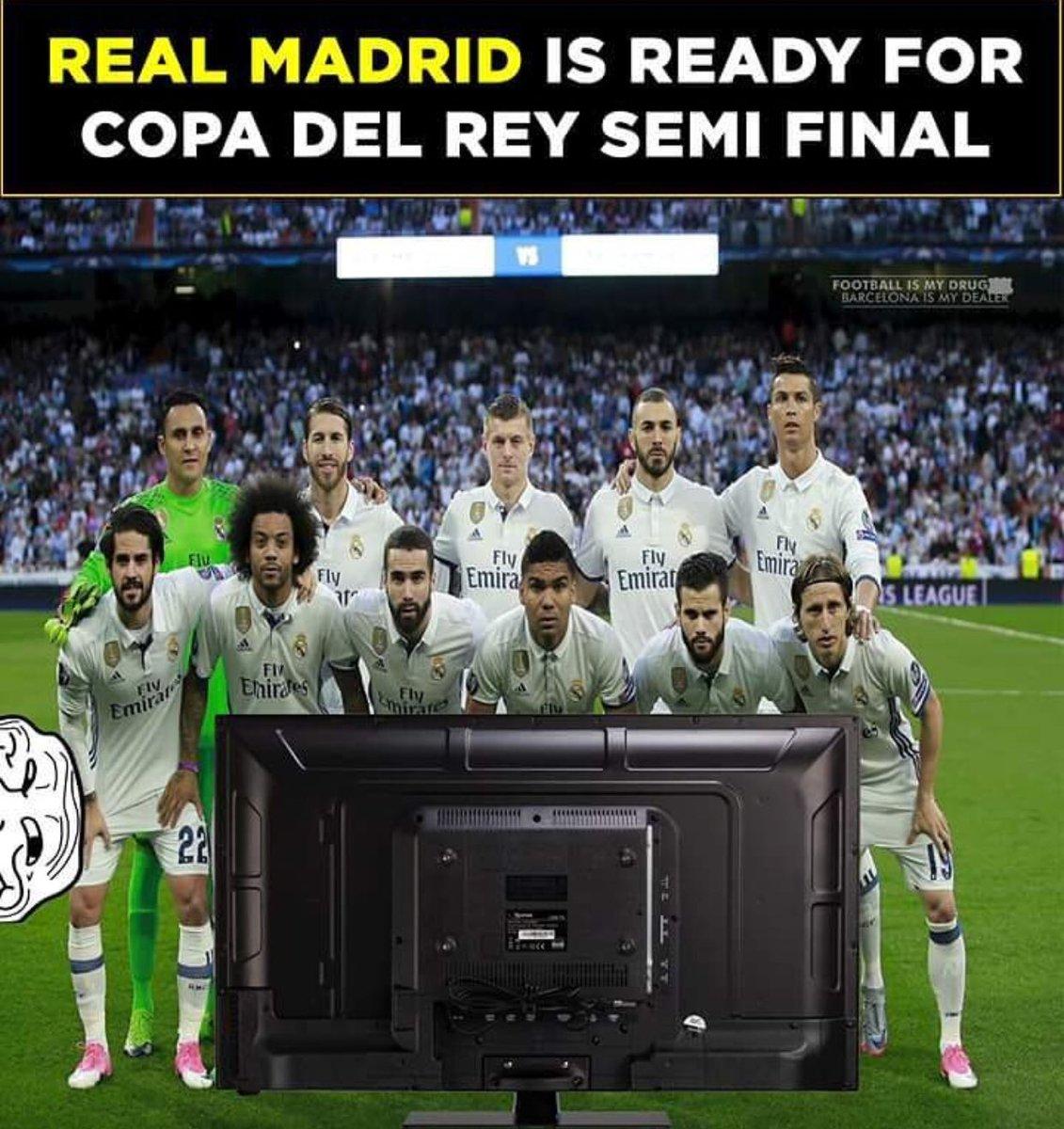 RT @RadioFCB: Ya está listo el Madrid para la semifinal de la Copa del Rey: https://t.co/7HNzF7XHPT