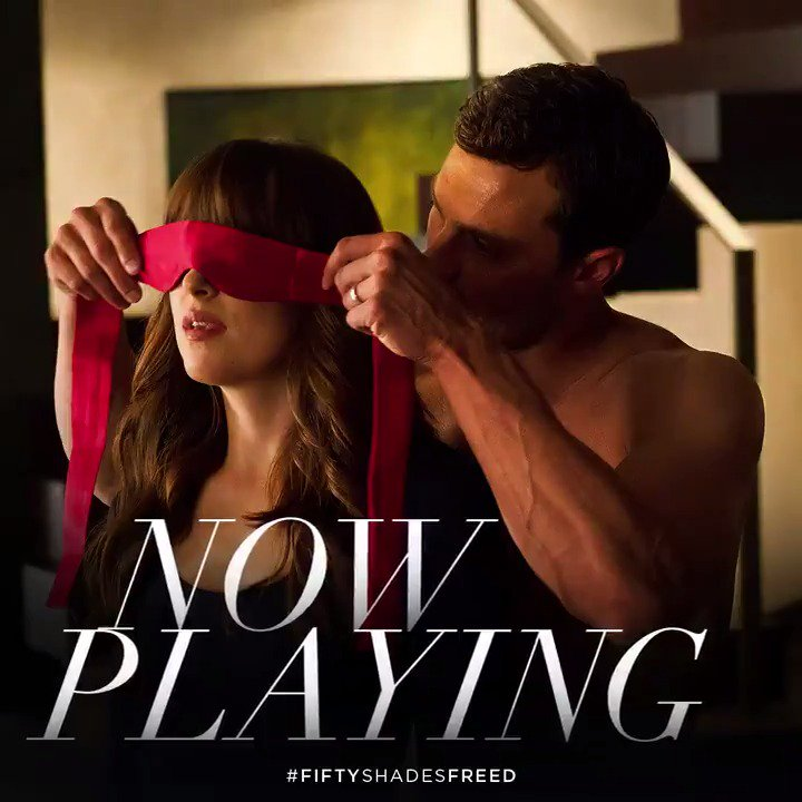 RT @FiftyShades: The Greys will see you now. #FiftyShadesFreed is NOW PLAYING. Get tickets: https://t.co/PItwn4ZJ0R https://t.co/nUGoFz3Gut