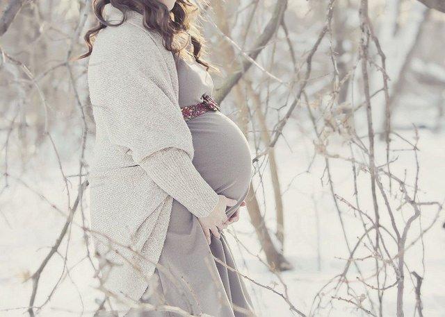 Идеи для беременной фотосессии на улице 60