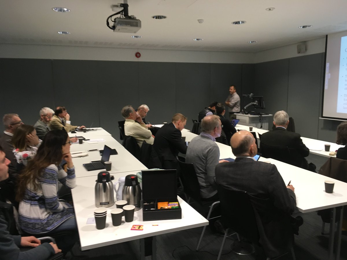 test Twitter Media - ICER and CDT-SIS Director Professor Paul Kemp opening the CDT-SIS Industry Steering Committee on the 8th February 2018. https://t.co/fVlXIl4mQW