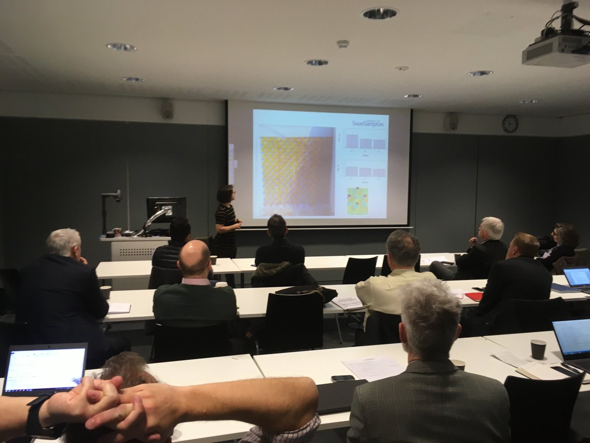 test Twitter Media - Here is ICER and CDT-SIS student Daniella Montali-Ashworth presenting her research on fish passage to the Industry delegates present at the CDT-SIS steering committee on the 8th February 2018 https://t.co/tliFQMcHOs