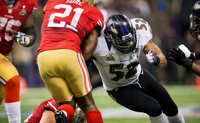 Happy Birthday to one of the best LB s in NFL history, Ray Lewis!
