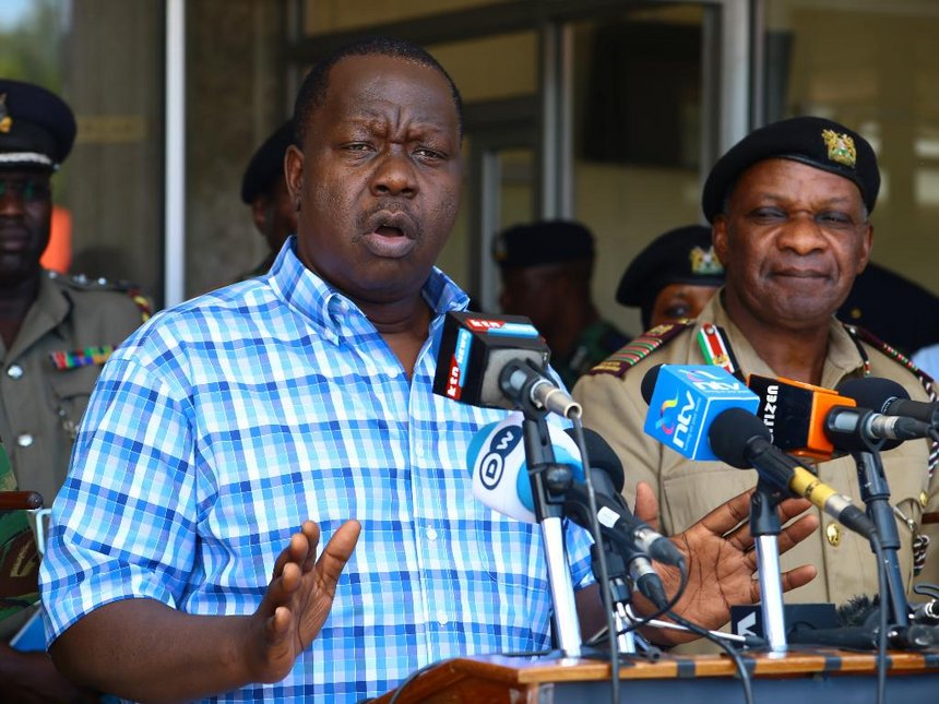 We will protest if leaders keep insulting Interior CS Matiang'i – Nyamira youth
