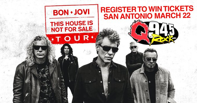 Win tickets to see Bon Jovi in Concert!
