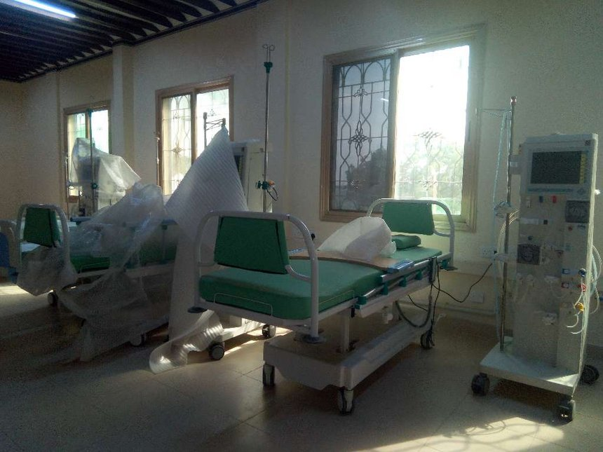 No dialysis care in Lamu due to lack of water