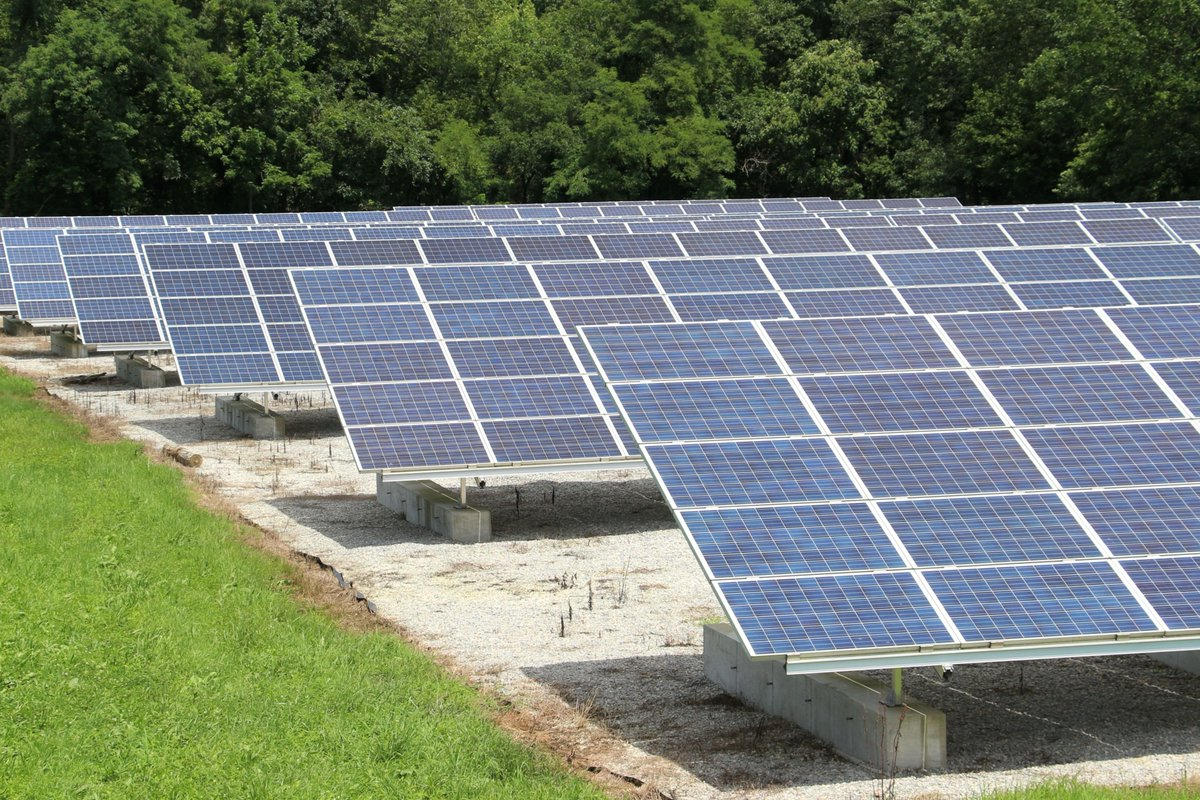 Newark solar park hits power generation milestone