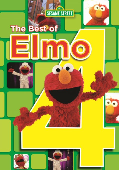 The Best of Elmo 4 DVD #Giveaway