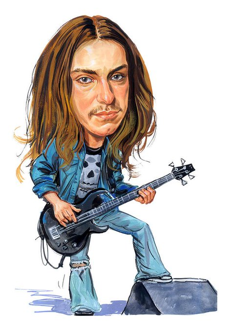 Happy Birthday to the great Cliff Burton from