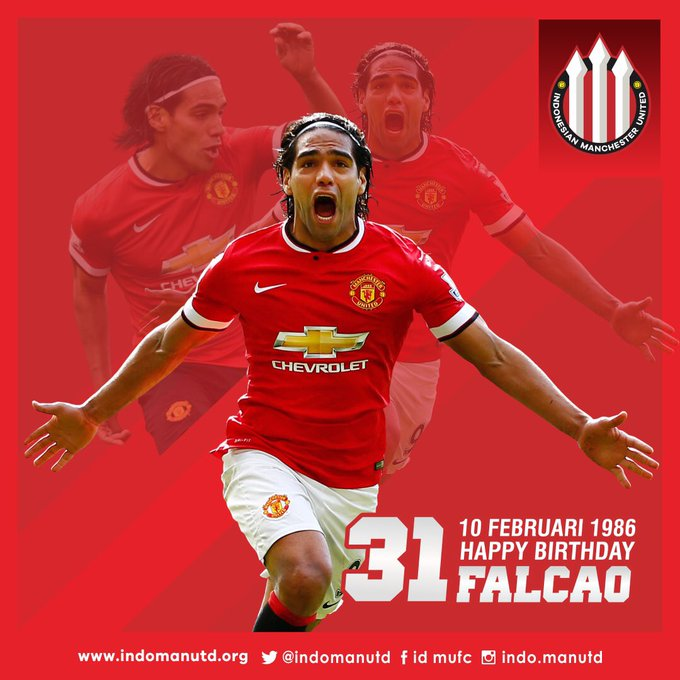 Happy Birthday Radamel Falcao !!