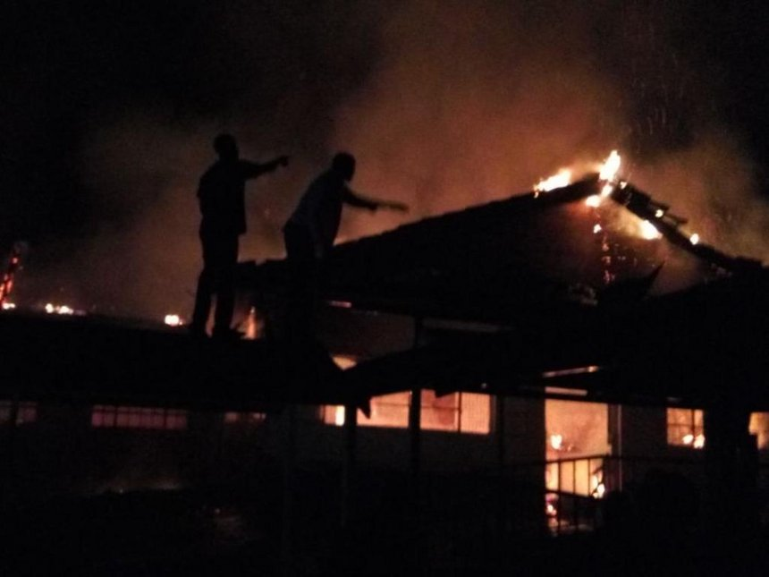 Fire razes section of Tenwek Mission Hospital, patients safe