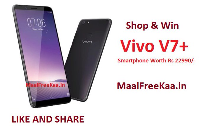 Amazon Valentine's Day Store Win Free Vivo V7 Plus