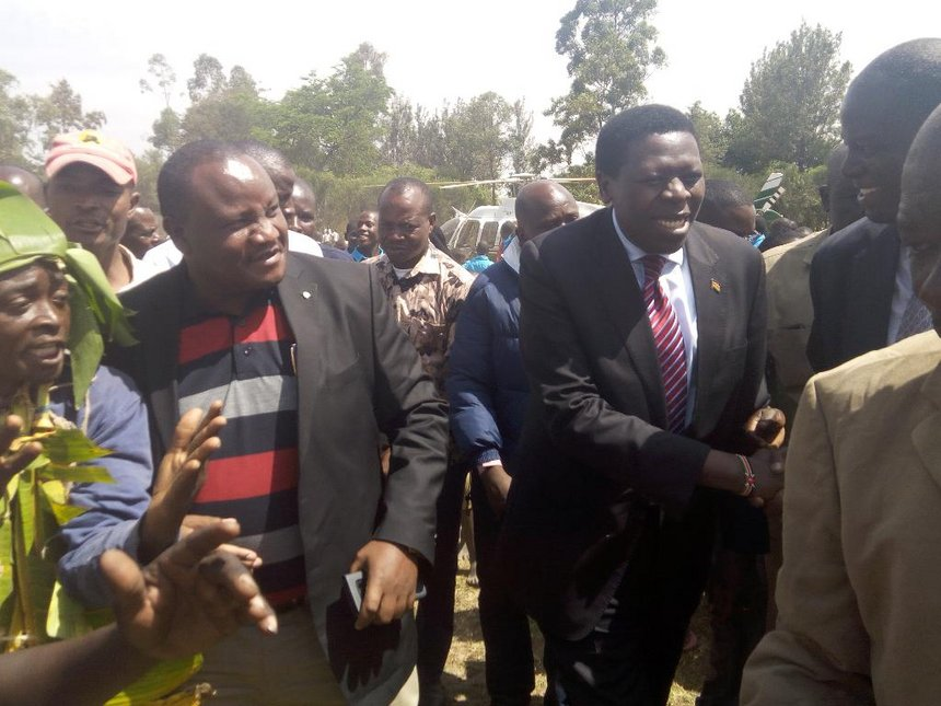 Wetangula and Musalia are cowards, CS Wamalwa tells Luhya community