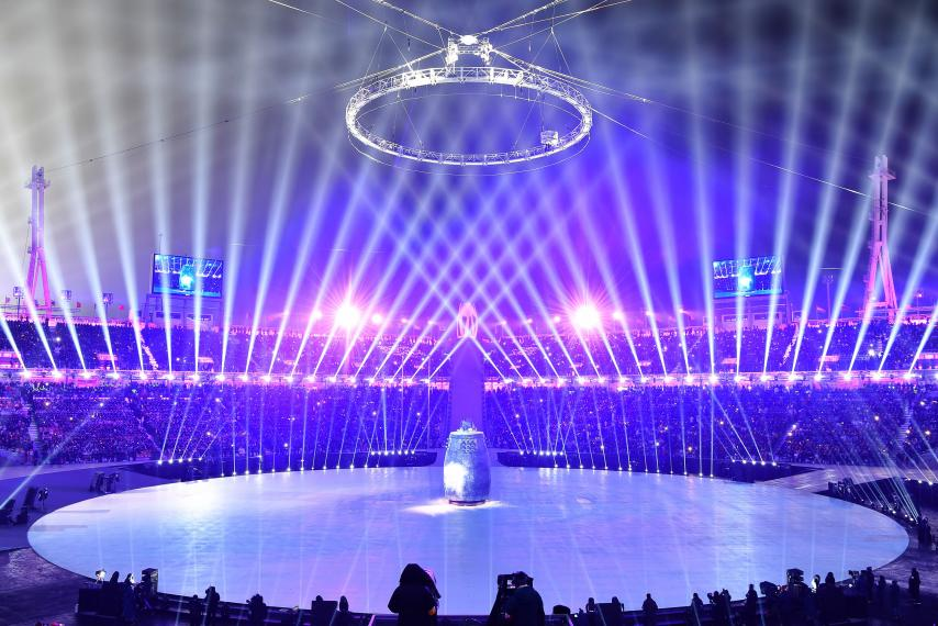 Best photos of the Pyeongchang 2018 Winter Olympic Games opening ceremony in South Korea