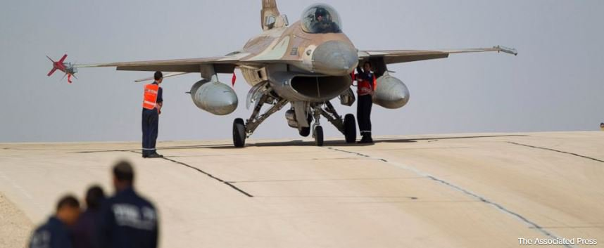 NEW: Israel downs Iranian drone and strikes Syria, F-16 crashes
