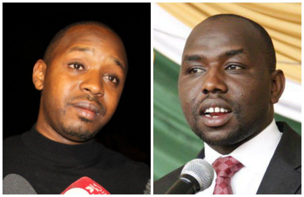 Murkomen, Boniface Mwangi in 'dirty' twitter spat over Maraga's court orders stand