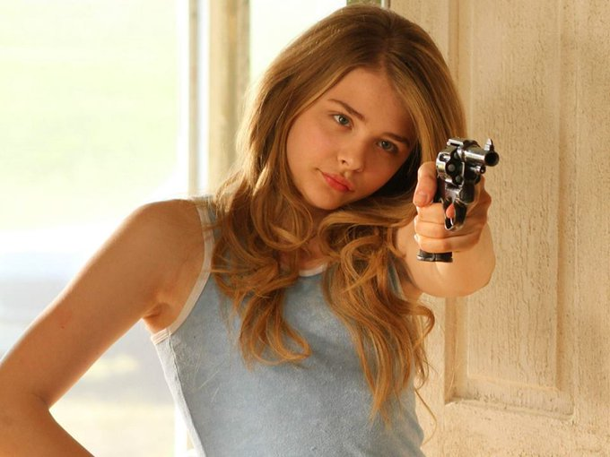 Happy 21st Birthday Chloë Grace Moretz! I love getting told no \cause then I fight even more.