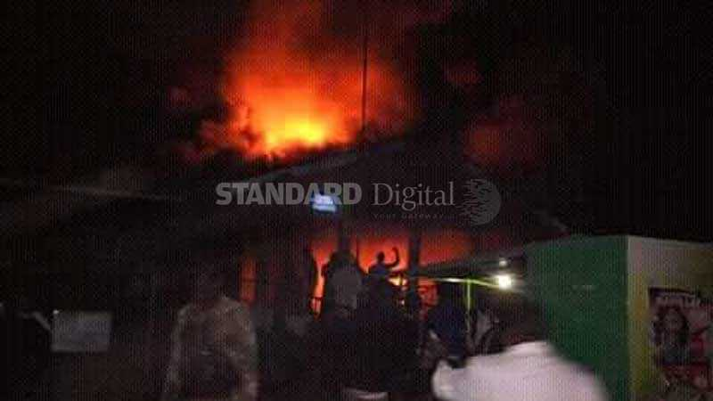 Panic and fear as fire razes Tenwek Mission Hospital