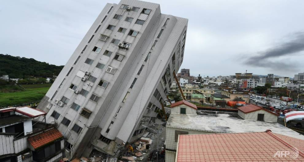 Taiwan quake toll rises to 14 as bodies pulled from rubble