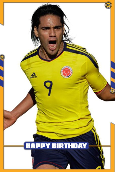 Happy birthday to the Colombia National Football Team striker, Radamel Falcao!!!