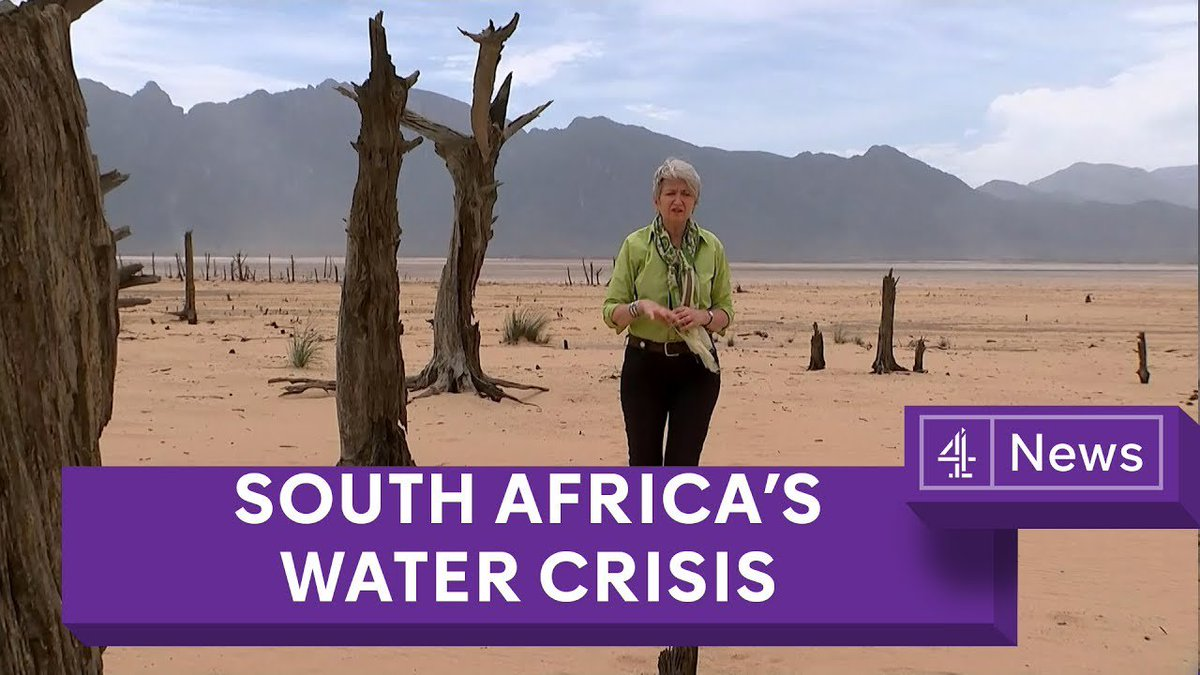 Water crisis looms in South Africa