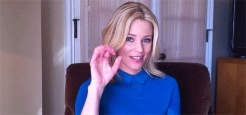 When your birthday falls on a Saturday? Happy birthday, Elizabeth Banks!