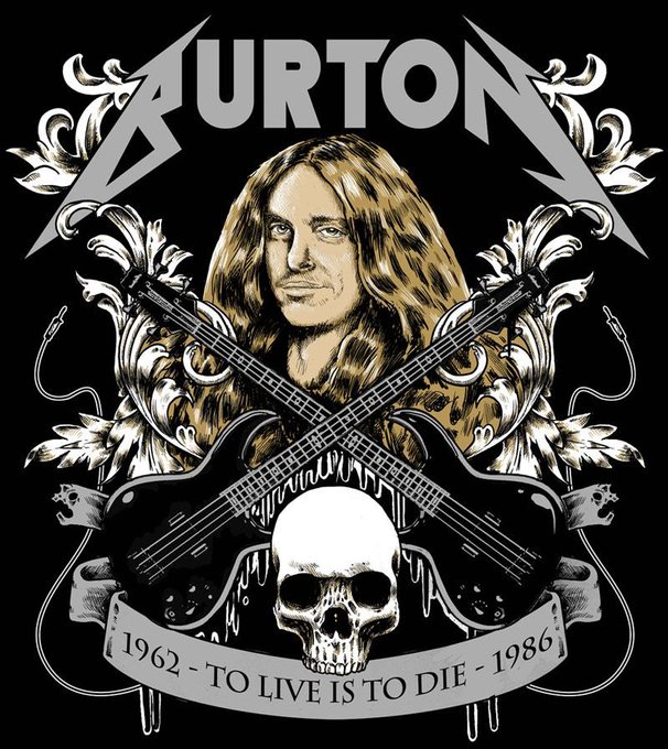 Happy birthday     cliff burton !!!!!!! Metallica Nation still miss you !!!!!!!