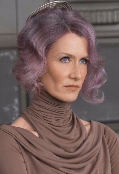 Happy birthday wishes to Laura Dern, our Admiral Holdo!