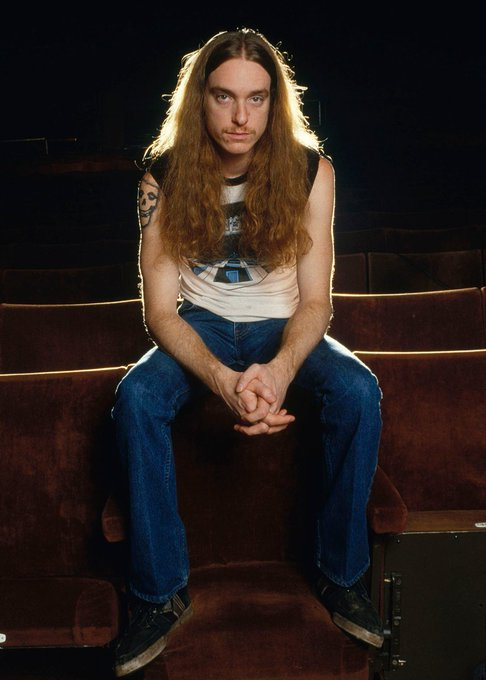 Happy birthday Cliff Burton. Rest in Peace, keep the metal engine rollin\ in heaven.