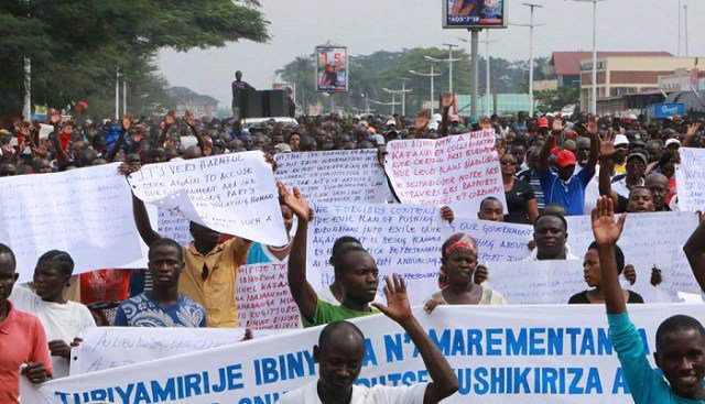 Burundians protest over criticism by UN chief