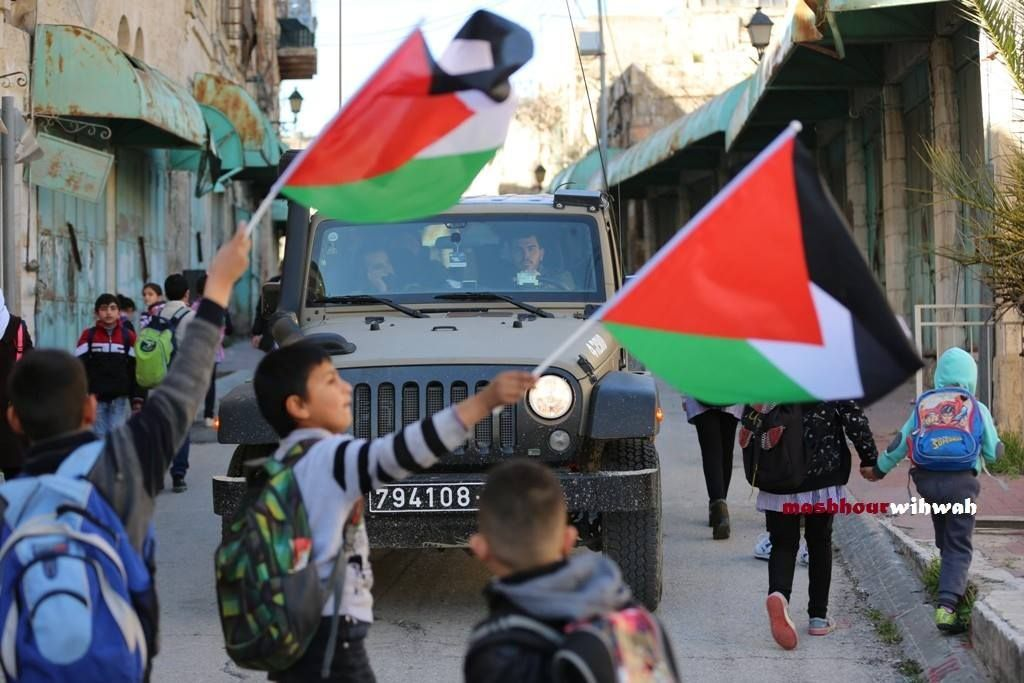 Kindergarteners marched in Hebron to protest Israel's detention of 350 children https://t.co/RWzqeJ29LF https://t.co/9Z9r92oq7Z