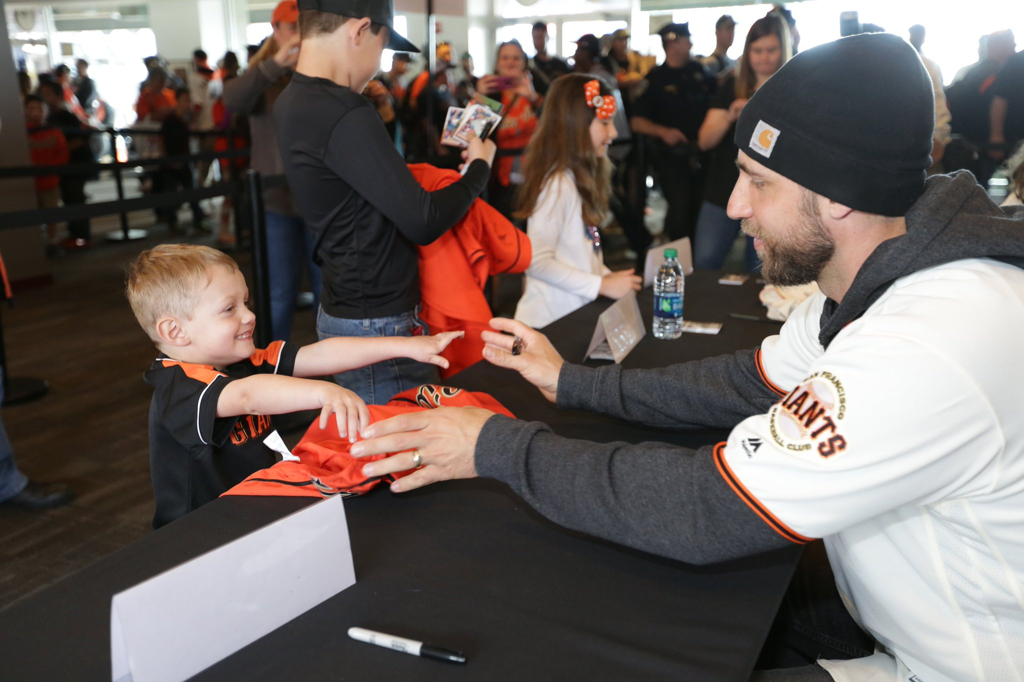 Day made.  #SFGFest | #SFGiants https://t.co/eXrHGy9jte