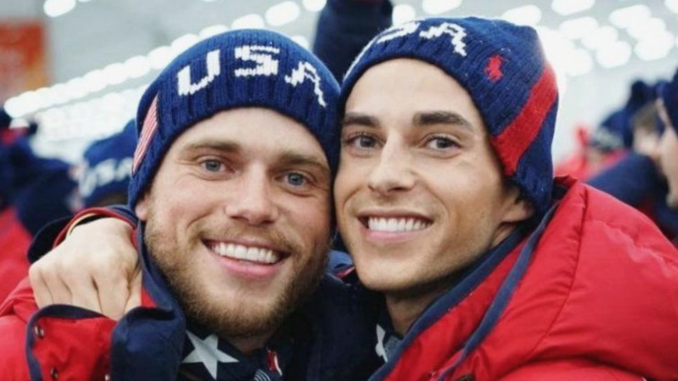 Gay Olympians celebrate '#TeamUSGay' in Instagram post: 'Eat your heart out, Pence' https://t.co/cH91m24P5l https://t.co/EYURzcAd6q