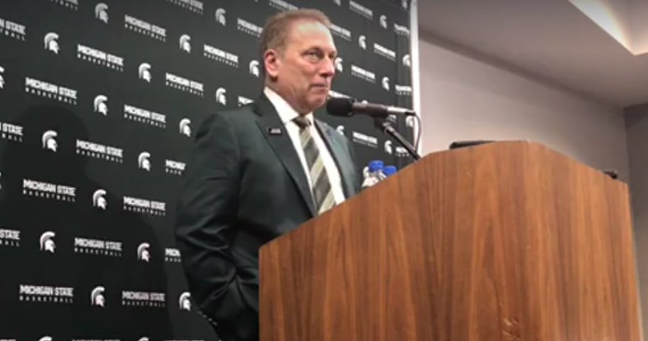 What Tom Izzo said after Michigan State's 68-65 win over Purdue